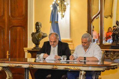 Provincia y Capital acordaron financiamiento de obras pluviales
