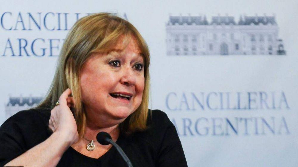 La canciller argentina se reunió con su par de Venezuela: