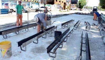 Repavimentan la avenida Juan B. Justo y hay desvíos