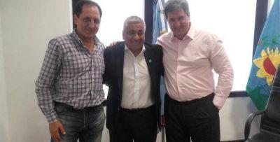 Salazar y Camilleti se reunieron con Gigante