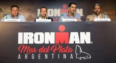 Triatlón: Mar del Plata recibirá el Ironman en 2017