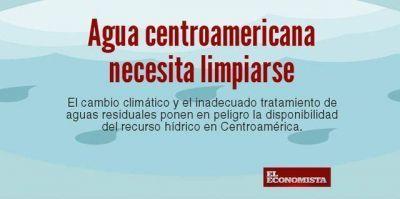 """Centroamérica está """"en pañales"""" en tratamiento de aguas residuales"""