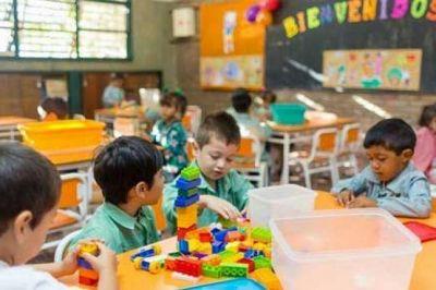 Polémica por las vacantes en los jardines de infantes de la Provincia