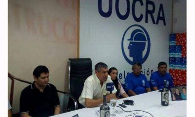 José Sánchez fue elegido como Secretario General de la UOCRA y adelantó que reclamará lugares en las listas
