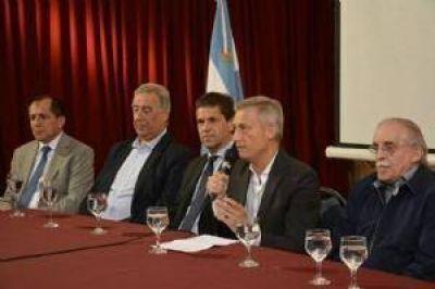 El Fiscal General de la Provincia participó junto a Avilés del seminario del Sedronar