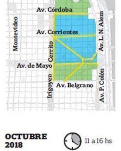 Se ampliará en 2018 la restricción para ingresar con auto al centro de la ciudad