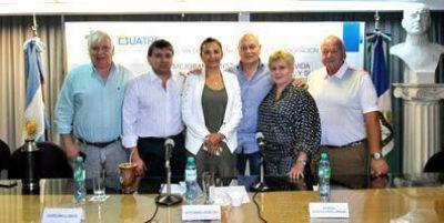 La UATRE y Green Cross Argentina firmaron un Convenio Marco de Colaboración