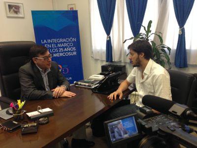 El Módulo de Integración Regional (MIR) entrevistó a Jorge Calzoni