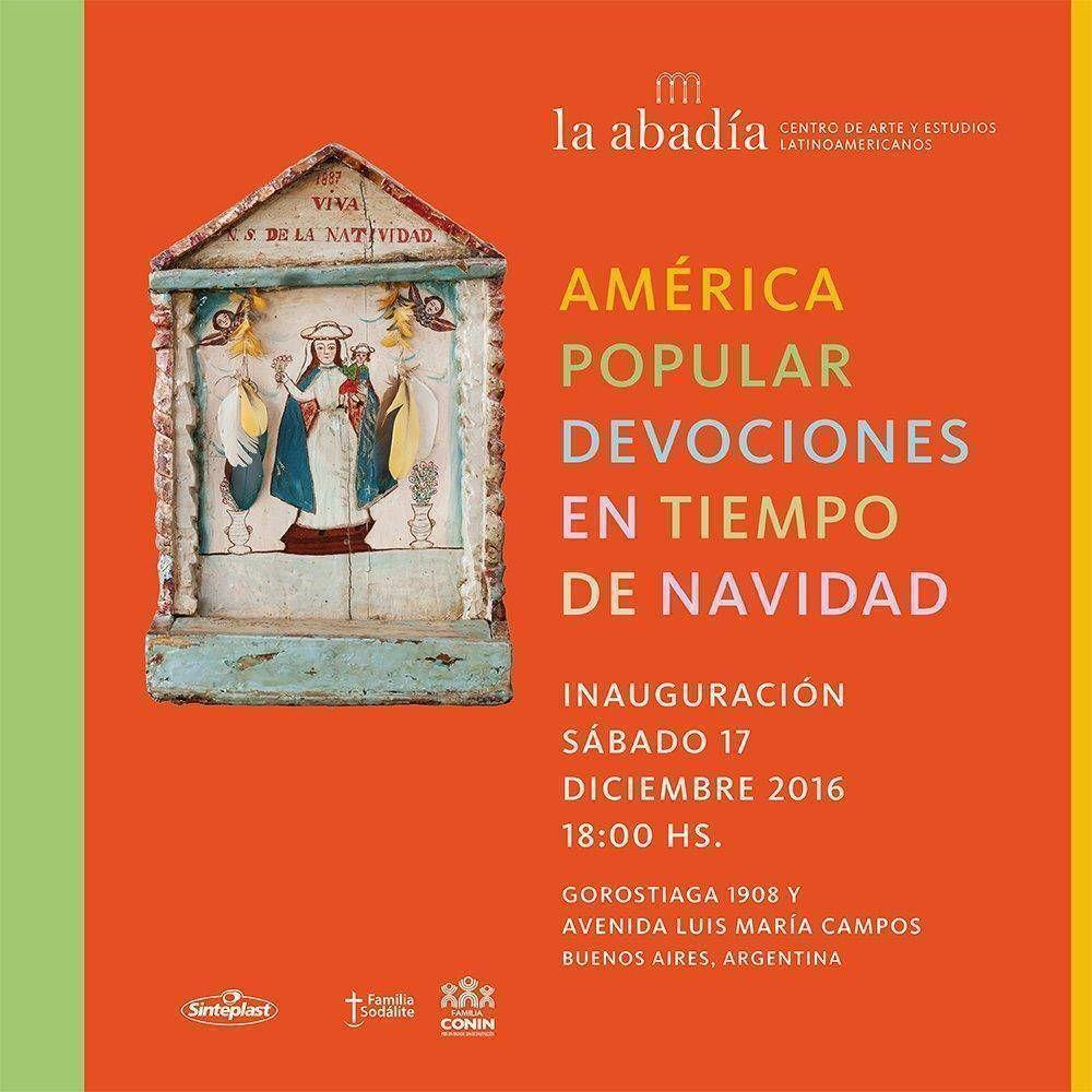 La Abadía - Centro de Arte y Estudios Latinoamericanos celebra Navidad con una exposición gratuita y solidaria