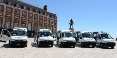 Arroyo celebró la incorporación de cinco ambulancias de última generación