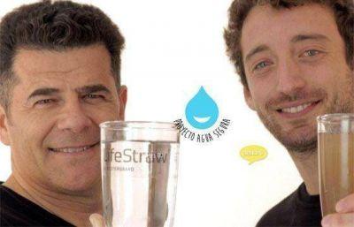 Instalarán filtros de agua en las escuelas y en las viviendas