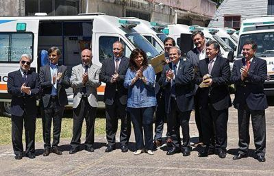 Salta cuenta con seis nuevas ambulancias de traslado y terapia intensiva