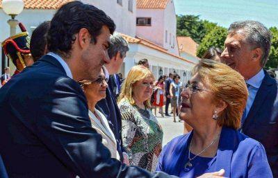 Urtubey se reunió con Macri y Bachelet en Olivos
