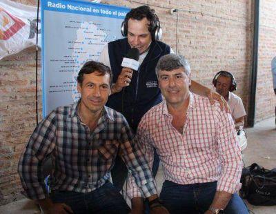 Buryaile y Naidenoff encabezaron en Laishí exitoso operativo Argentina Con Vos