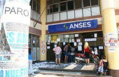 Paro total de actividades el martes en Anses