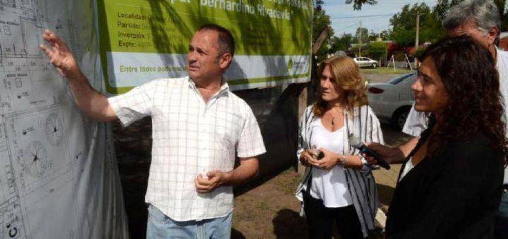 La Ministra Ortiz visitó Alvear y Saladillo y entregó subsidios