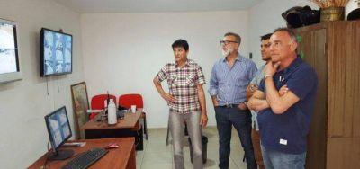 Barragán se reunió con Gasparini en Roque Pérez y luego visitó Saladillo