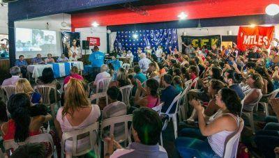 En Azul, el FPV tuvo su último plenario seccional del año