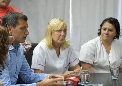 El intendente Bucca presentó a Silvia Hernández como nueva Directora del Hospital
