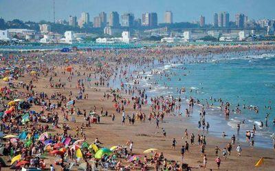Punta Mogotes: concesionarios aseguran que el viento ocasionó pérdida de arena