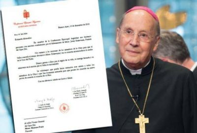 Carta de condolencias al Opus Dei