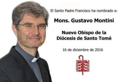 Mons. Gustavo Montini, nuevo obispo de Santo Tomé
