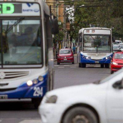 Habrá paro de colectivos por dos horas en Salta y marchas en el centro
