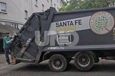Este lunes por la mañana no habrá recolección de residuos en la ciudad