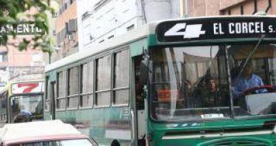 Este lunes el servicio de transporte público se interrumpirá entre las 21 y las 23
