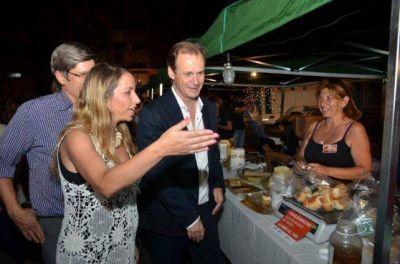 Bordet visitó la Feria Navideña