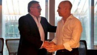 Larreta firmó un convenio con el intendente de Bragado