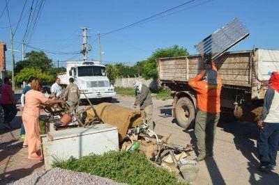 Trabajos de limpieza y de prevención
