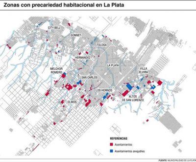 Los asentamientos en La Plata crecieron más del 50% desde 2001