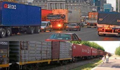 ¿Camión o ferrocarril?