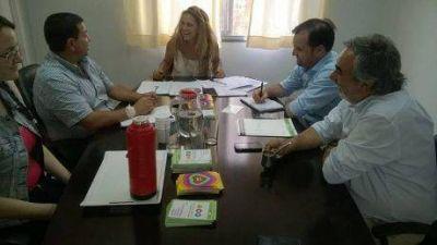 Tres intendentes municipales de la región realizaron gestiones conjuntas en Desarrollo Social de la Nación