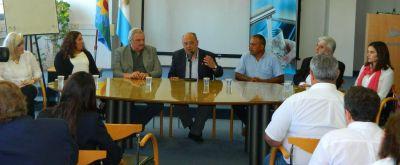 El Intendente Arroyo puso en funciones al nuevo Directorio de Obras Sanitarias