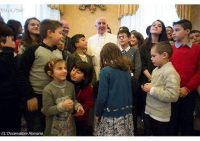 Contagien la alegría y la paz del Evangelio y cuiden a los abuelos. Tarea del Papa a los chicos de la Acción Católica italiana