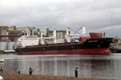 Exportaciones: Puerto Quequén marcó un nuevo récord