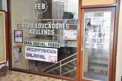 La FEB le pide a Vidal la reapertura de paritarias