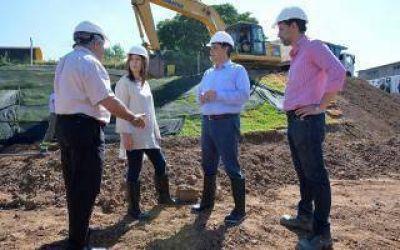 Vidal y Jorge Macri recorrieron obras hidráulicas en Vicente López