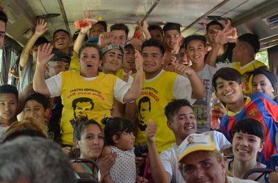 De la Liga del Potrero a la Bombonera: la emoción de los chicos de la villa La Cárcova
