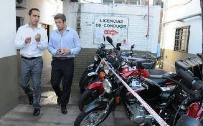 Tagliaferro supervisó operativos antipicadas en Morón