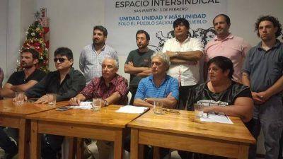 Se lanzó el espacio intersindical de General San Martín-Tres de Febrero