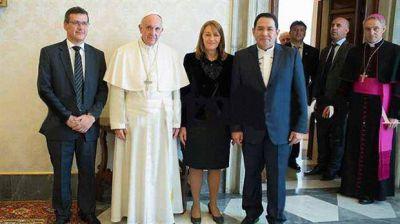 El papa Francisco recibió a Gils Carbó