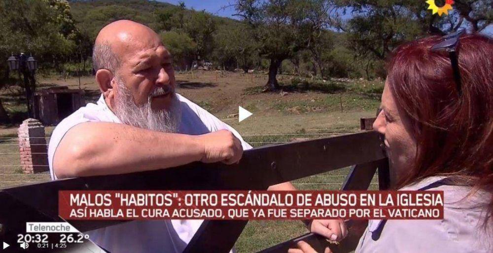 El padre Rosa desmintió las acusaciones en su contra