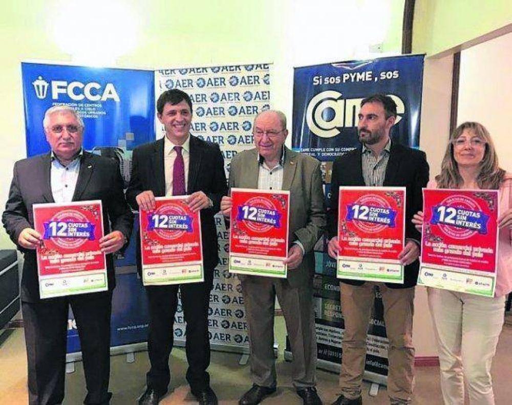 La Asociación Empresaria de Rosario lanzó plan de 12 cuotas para Navidad y Reyes