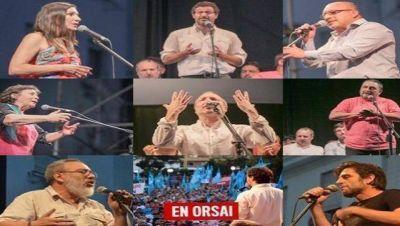 Plaza del Pueblo en Morón: qué dijeron los distintos referentes kirchneristas