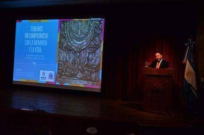 La DAIA en un homenaje a los judíos desaparecidos en la última dictadura