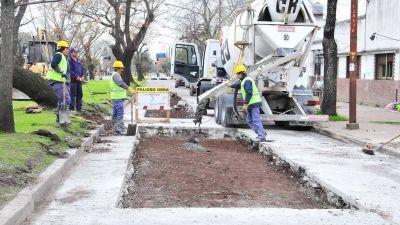 La Plata: los trabajos de bacheo, en la mira