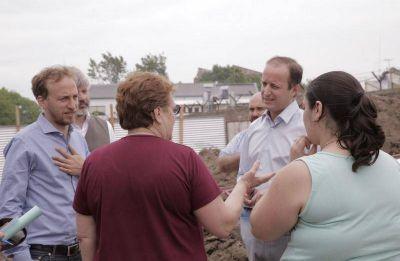 Mejoran y extienden el sistema de drenaje para evitar inundaciones